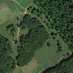 1964 Savage Mountain B-52 crash site (Google Maps)