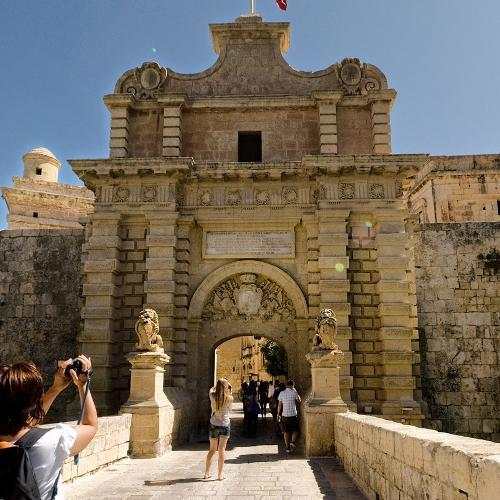 "Mdina Gate (""Game of Thrones"") (StreetView)"