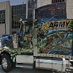 Go Army big rig