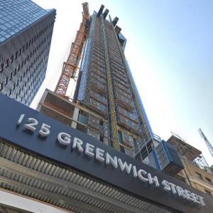 125 Greenwich Street under construction (StreetView)