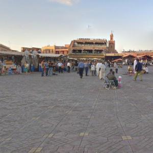 Jemaa el-Fnaa (StreetView)