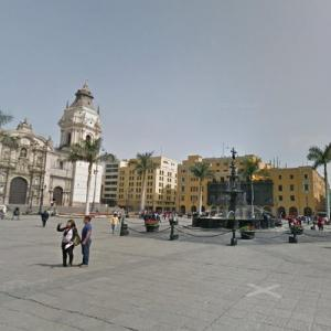 Plaza Mayor, Lima (StreetView)