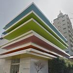Sugamo Shinkin Bank Shimura Branch by Emmanuelle Moureaux Architecture + Design (StreetView)