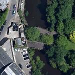 Former Kelvinbridge Railway Station (Google Maps)