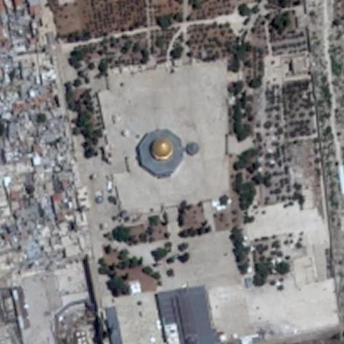 Dome of the Rock / Temple Mount (Google Maps)