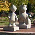 'Creation Myth' by Tom Otterness (StreetView)