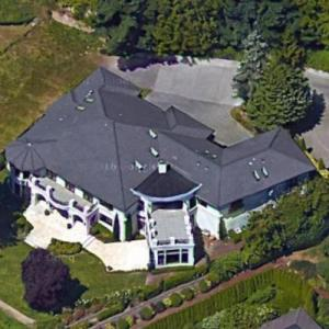 Russell Wilson & Ciara's House (Google Maps)