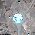 Iranian Orbital launchpad (Google Maps)