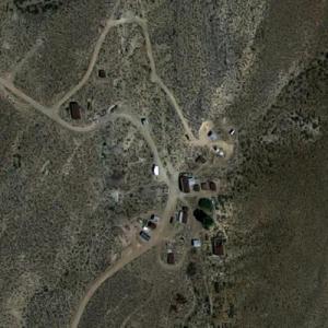 Sheahan family's Groom Mine property (Google Maps)