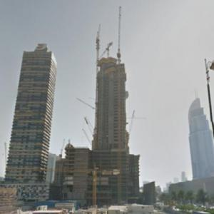 The Address - Fountain Views under construction (StreetView)
