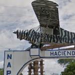 Front Gate to Pablo Escobar's Hacienda Nápoles