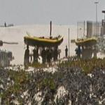 SEALs carrying their boats (StreetView)