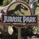 Jurassic Park sign (StreetView)
