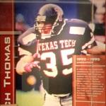 Zach Thomas #35 ILB Texas Tech