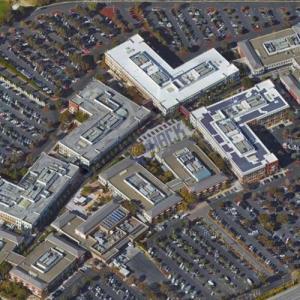 Facebook headquarters (Google Maps)
