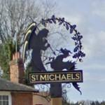 St Michaels village sign (StreetView)