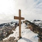 Terra Nova Expedition memorial cross (StreetView)
