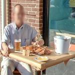 Crabs and a beer (StreetView)