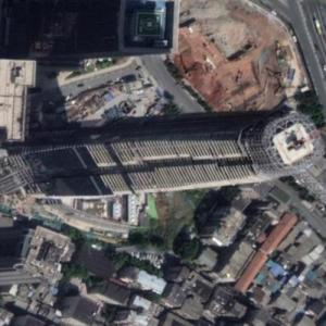 Shimao Hunan Center under construction (Google Maps)