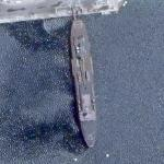 USS Frank Cable (AS-40) submarine tender (Google Maps)