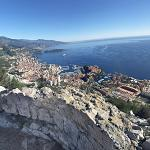 View of Monaco from Tête de Chien (StreetView)
