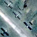 "North Korean AN-2 ""Colts"" at Sondok (Google Maps)"