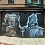 Cowardly Lion and Tin Man (StreetView)