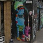 Street art by Cranio (StreetView)