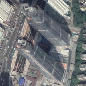 Nanyou Towers under construction (Google Maps)