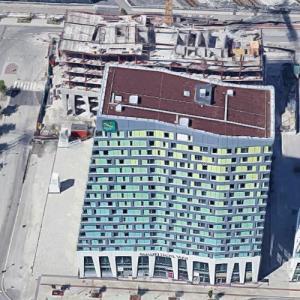 Point Hyllie under construction (Google Maps)