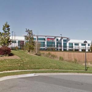 Haas F1 Headquarters (StreetView)