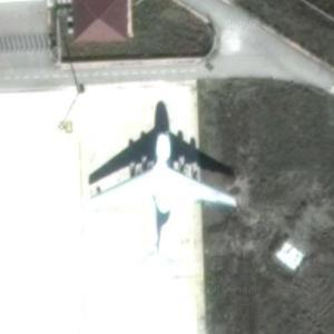 Il-76TD (Google Maps)