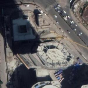 Commercial Bank of Ethiopia Headquarters (tallest building in Ethiopia) under construction (Google Maps)