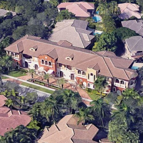 Home Pics: Antonio Brown's House In Hollywood, FL