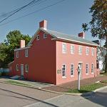 Levi Coffin House (StreetView)