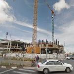 Uptown Tower under construction (StreetView)