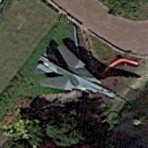 Mikoyan - Gurevich MiG-23 (Google Maps)