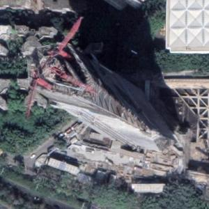OCT Tower under construction (Google Maps)