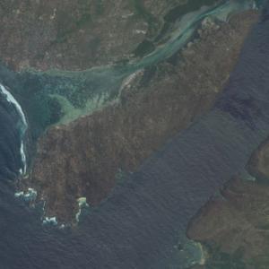 Nusa Ceningan (Google Maps)