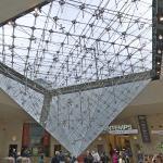 'La Pyramide Inversée' by I.M. Pei