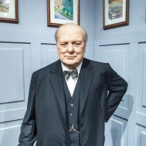 Winston Churchill at Madame Tussauds Amsterdam (StreetView)