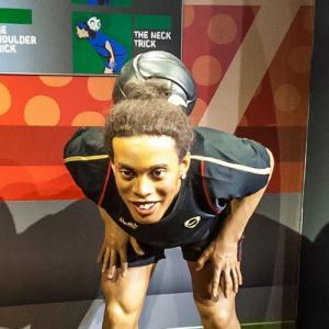Ronaldinho at Madame Tussauds Amsterdam (StreetView)