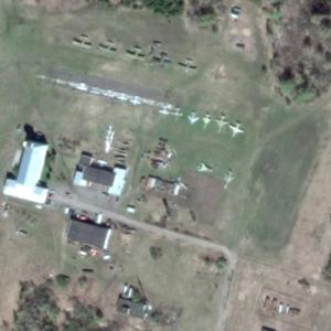 Barnaul Aircraft Museum (Google Maps)