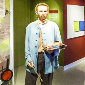 Vincent van Gogh at Madame Tussauds Amsterdam (StreetView)
