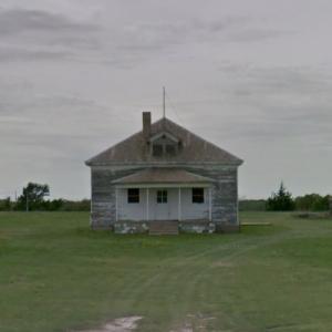 Nicodemus School District #1 Schoolhouse (StreetView)