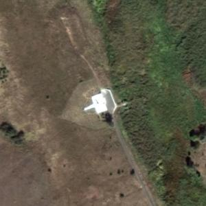 Pulkovo Aviation Enterprise Flight 612 crash site (Google Maps)