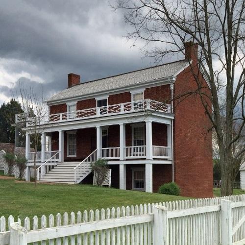 McLean House - Civil War surrender site (StreetView)