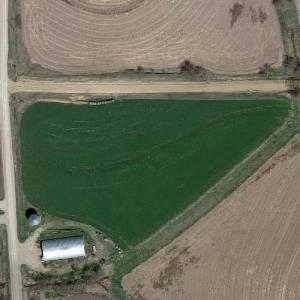 Braniff Flight 250 crash site (Google Maps)