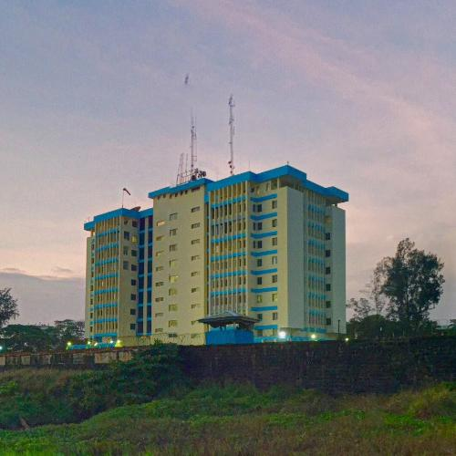 pan african plaza  tallest building in liberia  in