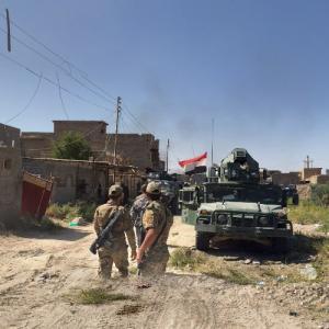 Battle of Fallujah (May 22 – June 28, 2016) (StreetView)
